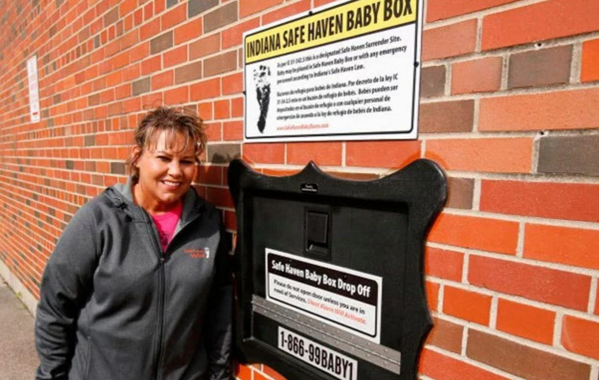 """Indiana Develops First Ever """"Baby Boxes"""" To Drop Your Baby Off Anonymously – Daily Mail"""