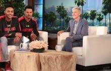 Jaylen Brantley and Jared Nickens Went On The Ellen Show To Talk About The #RunningManChallenge