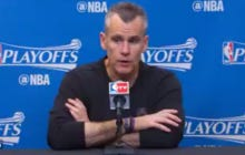 """Billy Donovan With An All Time """"George Costanza"""" Press Conference After Last Night's Controversial Ending"""