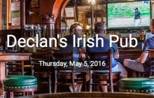 This Thursday We're Hosting Pints 4 Pete At Declan's In Old Town, Buy A Ticket, Drink A Beer, Help A Great Cause