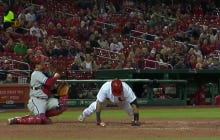 Yadier Molina Gets Knocked Down By A Pitch, Does Pushups, Promptly Rips Base Hit Into Center