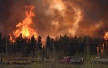 MASSIVE Fires Are Burning Canada