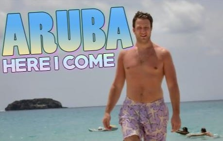 I'm Excited To Spend A Few Days In Aruba With Pres