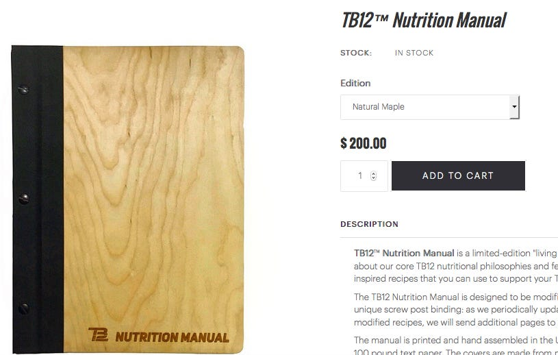 Tom Brady Just Released A $200 Nutrition Manual And I'm Already Feeling Skinnier