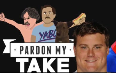 Pardon My Take 5-4 With Richie Incognito From The Buffalo Bills