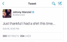 Johnny Football Keeping It Light While Getting Booked For Alleged Assault