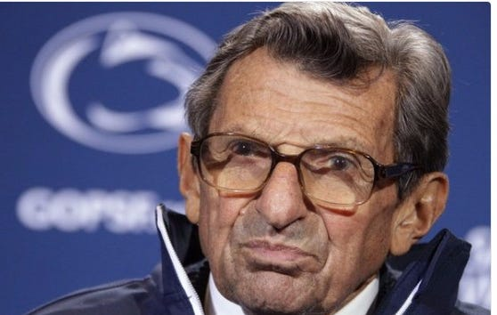 Report:  Victim Told Joe Paterno About Sexual Abuse From Jerry Sandusky In 1976