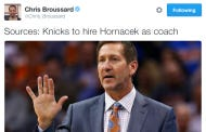 Breaking News – Jeff Hornacek To Be Named Next Knicks Head Coach