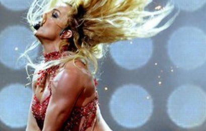 Need To Know What Britney Spears Is Doing To Get Her Triceps To Pop Like This