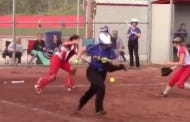 Another Day, Another Softball Game Ending Gloriously On A Walk Off, Inside The Park…Pop Up To The Catcher