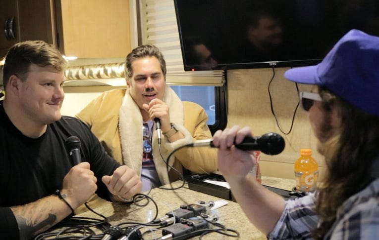 Pardon My Take 6-23 Live From Buffalo With Richie Incognito