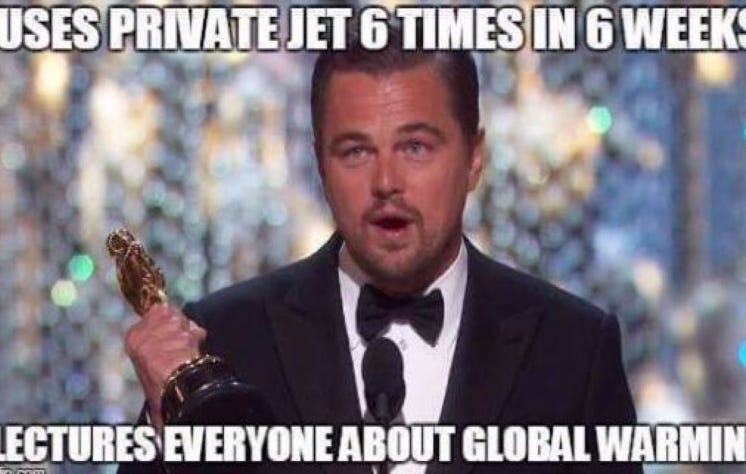 Leo DiCaprio Is Getting Crushed For Flying 8,000 Miles On A Private Jet To Pick Up An Environment Award