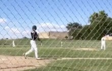 This 8th Grader's Bat Flip Followed By The Running Man Challenge Is The Cockiest Thing I've Ever Seen