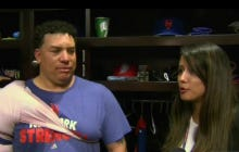 Bartolo Colon Told Gio Gonzalez To Throw The Ball Right Down The Middle Because He Wasnt Going To Swing.  Also Happy 43rd Birthday To Big Sexy