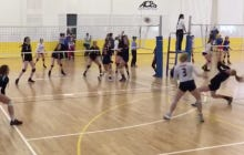 I Can Watch This Volleyball Player Taking A Spike Off Her Face And Scoring A Point All Day