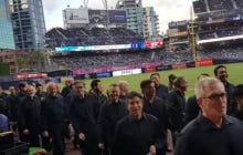 The Padres Are In Some Hot Water For Playing A Woman Singing The National Anthem Over The San Diego Gay Men's Choir