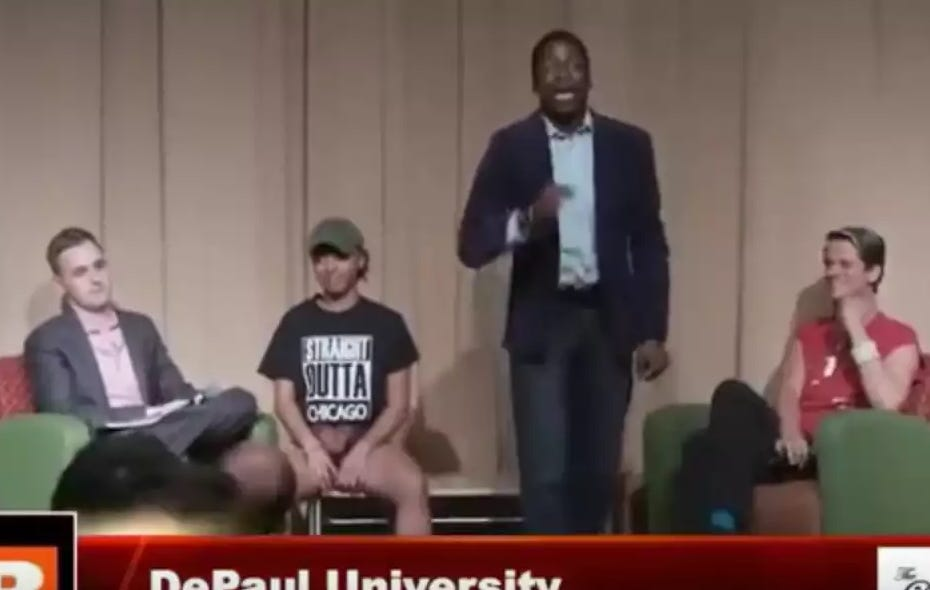 A Conservative Speaker's Session At DePaul University Got Completely Taken Over By Anti-Trump Protestors And Security Refused To Help