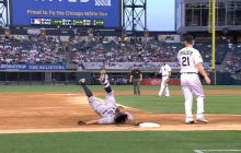 Wake Up With Mike Napoli Face-Planting Into Third Base After Hitting A Two-Run Triple Off Chris Sale