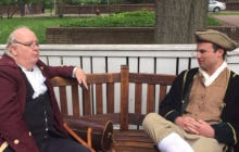 Smitty And Ben Franklin Do Colonial America