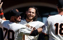 Wake Up With Brandon Crawford Hitting A Walk-Off Single In The Bottom Of The 10th