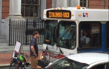 Has Anybody Ever Deserved To Get Run Over More Than This Asshole Biker Who Blocked A SEPTA Bus For An Hour?