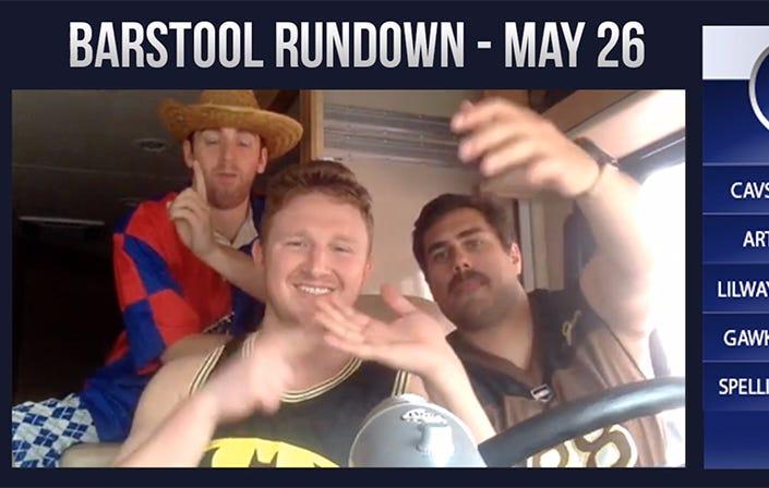 Barstool Rundown – May 26, 2016