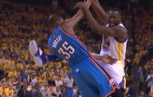 Draymond Green Did The Logical Thing By Trying To Kick Thunder Players In The Head Last Night