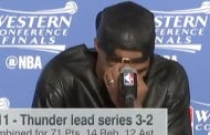 Kevin Durant And Russell Westbrook's Reaction To The Question Of If Steph Curry Is An Underrated Defender Was Classic