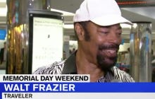 "Happy Memorial Day Weekend From Known Traveler Walt ""Clyde"" Frazier"