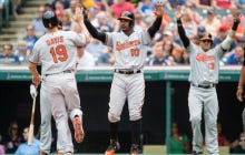 O's Wrap Up Road Trip With Series Win In Cleveland, Head Home For 4 With Boston