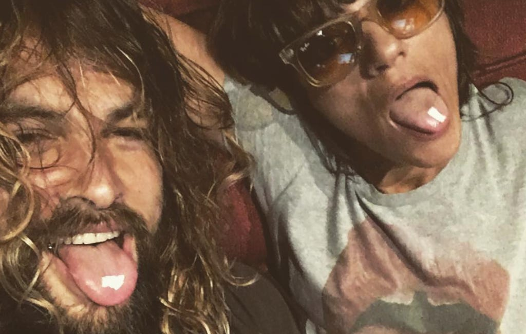 Khal Drogo Casually Dropping Acid On Instagram