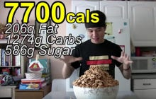 Matt Stonie Ate A Bowl Of Cinnamon Toast Crunch
