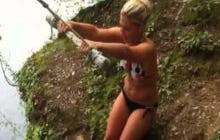 Wake Up With A Bunch Of People Falling Victim To The Rope Swing