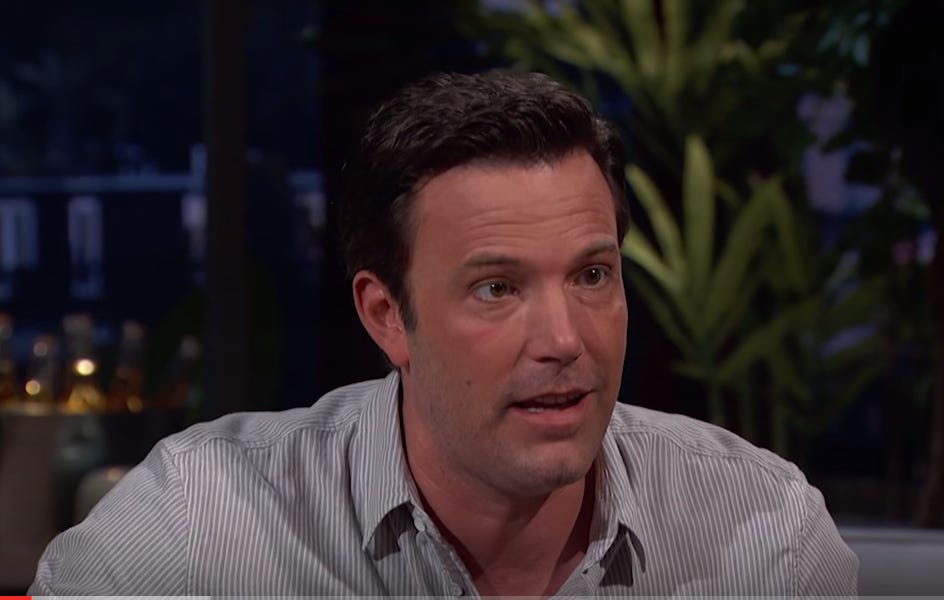 What Was Up With Ben Affleck On Bill Simmons Show Last Night?