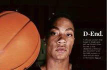 Front Page Of The Tribune Sports Section Makes It Real, The Derrick Rose Era Is Over In Chicago
