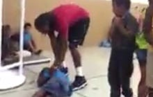 Wallace State Hoops Player Tries To Dunk Over 7 Kids