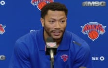 Gotta Love Derrick Rose Dropping An F-Bomb At His Live Introductory Knicks Press Conference