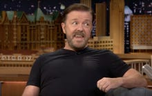 Ricky Gervais Breaking The Record For Most Impressions In 30 Seconds Takes Us Into The Weekend