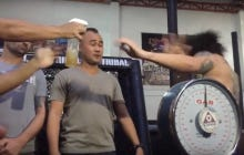 MMA Fighter Sprays Piss In His Opponent's Face At The Weigh In