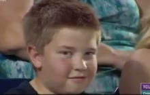 This Little Bro At The College World Series Is The Definition Of Electric