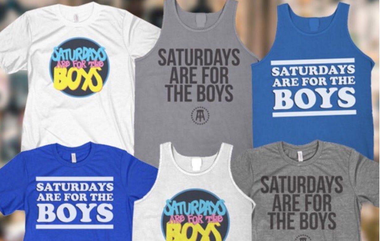 #SaturdaysAreForTheBoys Top 5 Trend On Twitter