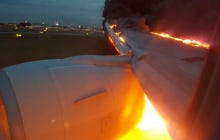 Surprise, Surprise: A South-Asian Airliner Caught On Fire Yesterday