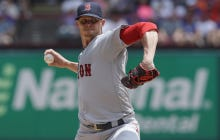 In A Shocking Turn Of Events, Clay Buchholz Was Unable To Stop The Texas Rangers