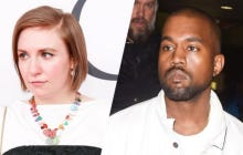 Lena Dunham Says Shes Disgusted With Kanye's New Music Video With Naked Celebrities