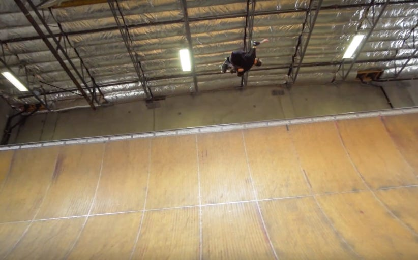 Tony Hawk Landing A 900 At The Age Of 48 Hit Me Right In The Nostalgic Feels