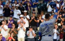 Wake Up With Troy Tulowitzki Getting A Standing Ovation In His First At-Bat At Coors Field Since Being Traded To Toronto