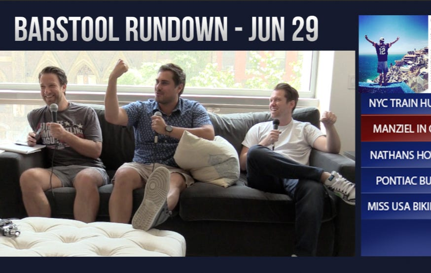 Barstool Rundown June 29, 2016