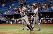 The Tigers Were Losing 7-2 In The Ninth, Scored 8 Runs To Beat The Rays 10-7
