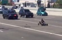 Nothing Like A Good Go-Cart vs Cops High Speed Chase