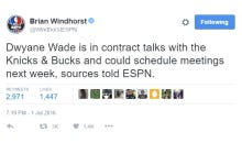 Now Dwyane Wade Is Being Linked To The Knicks
